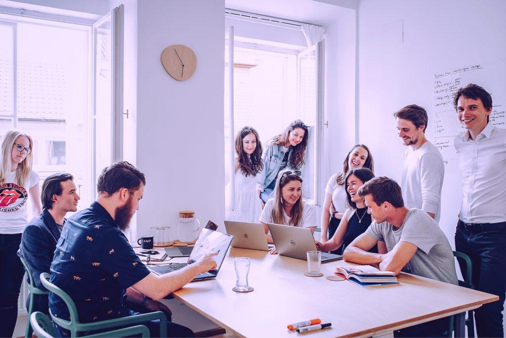 Satisfied team at Digital Ant.